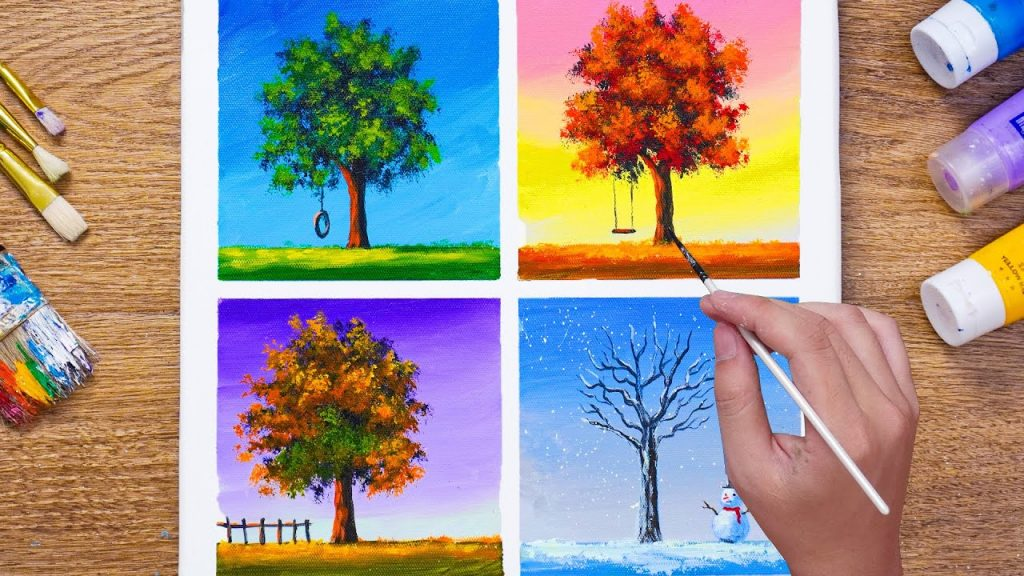 Painting for seasons